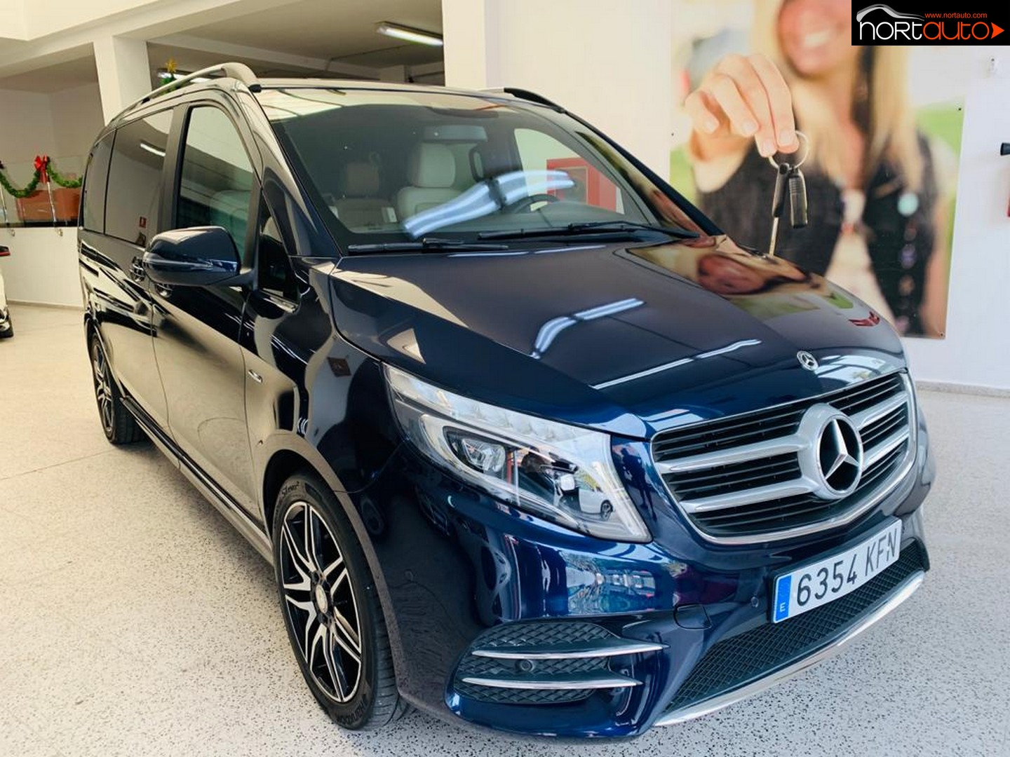 Mercedes Clase V 250d Luxury