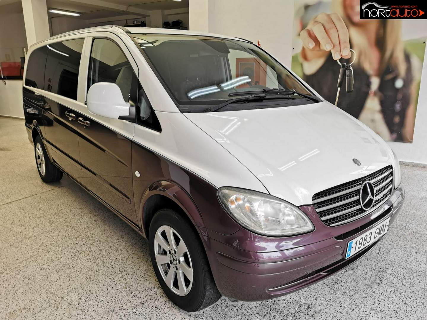 Mercedes Vito 111 CDI larga
